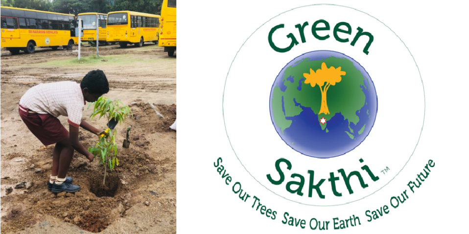 Green Sakthi for environmental sustainability